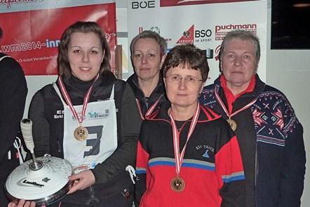 Silber für Denise Brenner (U23), Bronze für die Damen-Mannschaft