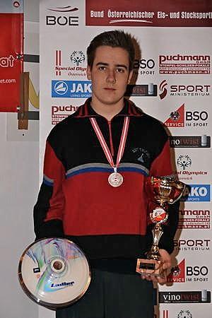 Rene Glavanovits österreichischer Vizemeister U16