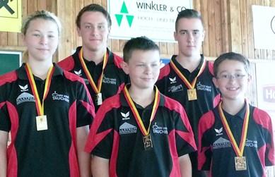 Tauchen gewinnt die LM Jugend U16