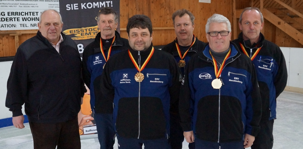 ESV Neudauberg gewinnt knappe Landesmeisterschaft