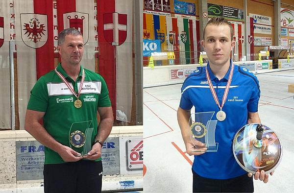 Christian Sommer Österreichischer Meister Ziel Herren – Stefan Glavanovits Zweiter im U19 Bewerb