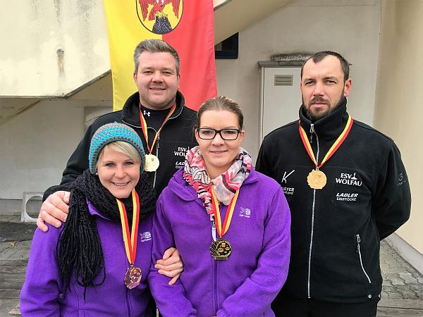 Wolfau gewinnt Landesliga Mixed