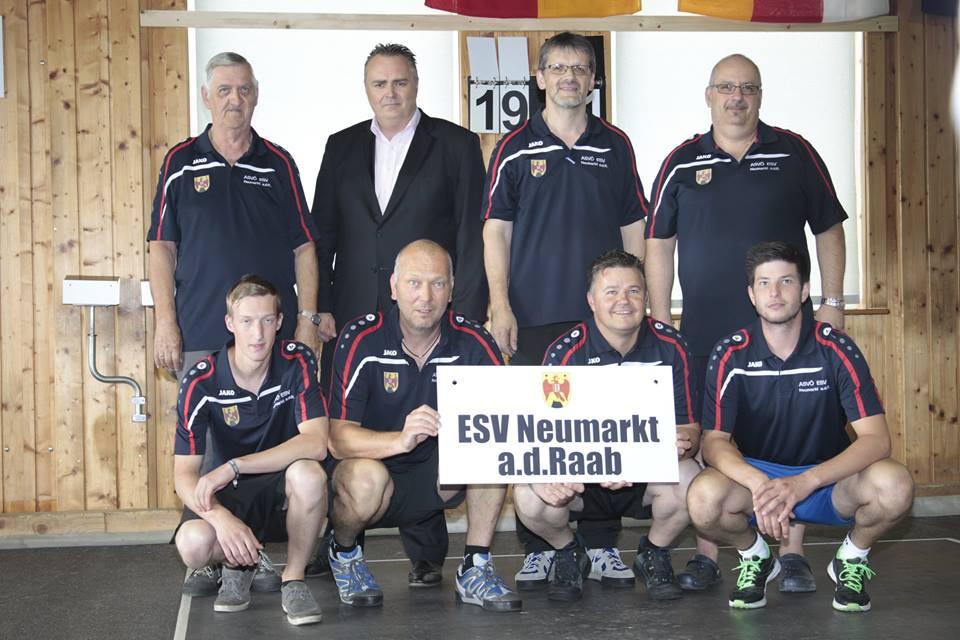ESV Neumarkt a.d. Raab 5. in der Bundesliga
