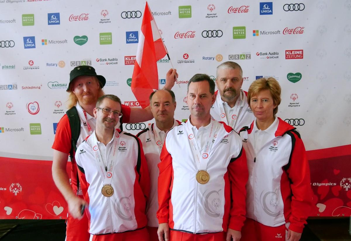 Sieg bei Special Olympics für Markus Laschober