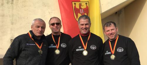 ESV Wörterberg gewinnt Landesliga Senioren