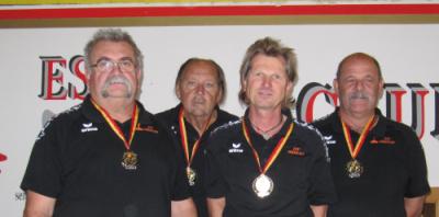 spannende Landesliga der Herren geht an ESV Oberwart
